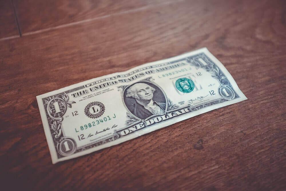 1 Dollarschein